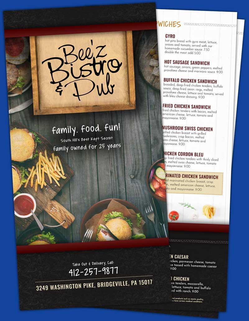 beez-bistro-menu-cover